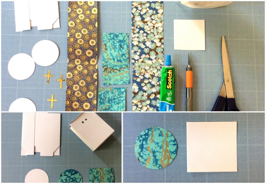 DIY boites origami